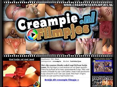 Creampie filmpjes