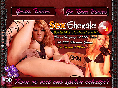 Geile shemale sexfilms