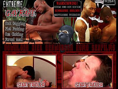 Hij was zich van geen kwaad bewust bij die vriendelijke masseur. Die had zichzelf een lolletje belooft met Rob, Maar Rob is gek op Dries. Daar had de masseur mooi lak aan en Rob wordt nu bruut anaal verkracht!